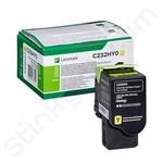 High Capacity Lexmark C232HY0 Yellow Toner Cartridge (Return Program)