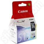 High Capacity Canon CL-513 Tri-Colour Ink Cartridge
