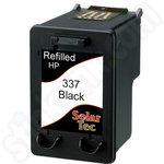 Refilled HP 337 Black ink Cartridge