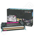 Lexmark 0C734A1MG Magenta Toner Cartridge