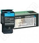 High Capacity Lexmark C54x Cyan Toner