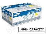 High Capacity Samsung Y5082L Yellow Toner