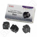 Xerox C2424 Solid Ink Stick Black 3 Pack