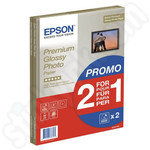 Twinpack of Epson A4 Premium Glossy Photo Paper - 2x15 Sheets