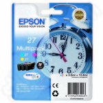 3-Colour Multipack of Epson 27 Ink Cartridges