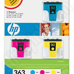 3-Pack HP 363 Value Pack