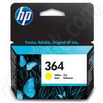 HP 364 Ink Cartridges Yellow
