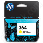 HP 364 Ink Cartridges Yellow