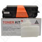Remanufactured Kyocera TK350 black toner cartridge