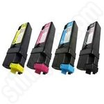 Multipack of Compatible Xerox 6125 Toner Cartridges
