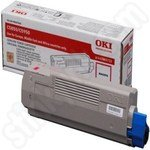 Original Oki 43865722 Magenta Toner Cartridge