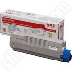Original Oki 43865721 Yellow Toner Cartridge