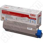 Oki 43872307 Cyan Toner Cartridge