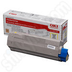 Oki 43872305 Yellow Toner Cartridge