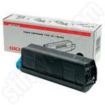 Original Oki Type C6 Black Toner Cartridge