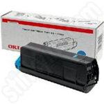 Original Oki Type C6 Cyan Toner Cartridge