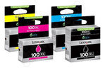 High Capacity Lexmark 100 Multipack