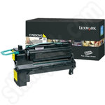 Extra High Capacity Lexmark C792X1YG Yellow Toner