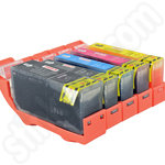 Multipack of Compatible Canon Pgi-525 and Cli-526 Ink Cartridges