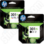 High Capacity HP 301XL Twin Pack