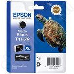 Epson T1578 Matte Black Ink Cartridge