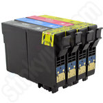 Compatible Multipack of Epson T1285 Ink Cartridges