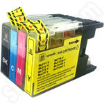 Multipack of Compatible Brother LC1240 Ink
