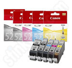 Multipack of Canon PGi-520 and Cli-521 Inks