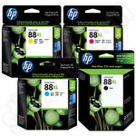 Multipack of High Capacity HP 88 XL Ink Cartridges