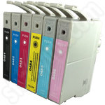 Compatible Epson T0487 ink multipack