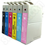 Compatible Epson T0807 ink multipack