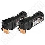 Twinpack of Epson S050631 Black Toner Cartridges