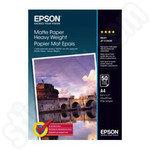 Epson A4 Matte Photo Paper 50 Sheets