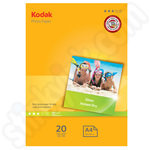 Kodak A4 Glossy Photo Paper - 20 Sheets