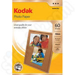 Kodak Glossy 6x4 Photo Paper - 60 Sheets