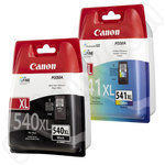 High Capacity Multipack of Canon PG-540XL and CL-541XL Inks
