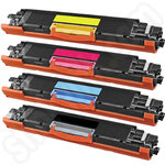 Multipack of Remanufactured HP 126 toners