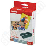 Canon KC-36IP Colour Cartridge and Credit Card Sized Photo Pack