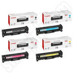 Multipack of Canon 718 Toner Cartridges