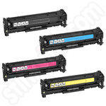 Multipack of Remanufactured Canon 718 Toner Cartridges