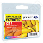 Remanufactured Canon CL-51 Colour Ink Cartridge