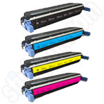 Multipack of Remanufactured HP C9730-3 Toner Cartridges