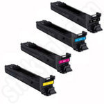 Remanufactured Multipack of Konica Minolta MC4560 Toners