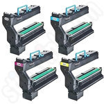 Multipack of Remanufactured Konica Minolta 1710582 Toners