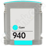 Remanufactured  HP 940 XL Cyan Ink Cartridge