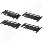 Remanufactured Multipack of Samsung CLT-4072S Toners