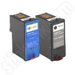 Multipack of High Capacity Dell CH883-4 Inks