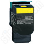 Remanufactured High Capacity Lexmark C54 Yellow Toner