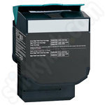 Remanufactured High Capacity Lexmark C54 Black Toner