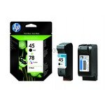 Twinpack of Original HP 45 and HP 78 ink cartridges